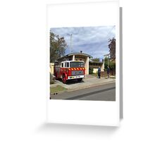 Wyong 505 Fire Station Greeting Card
