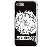 SkylerSucks.org iPhone Case/Skin
