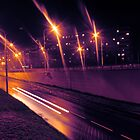 Car trail by Explosive