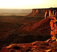 Sunset at Island in the Sky, Canyonlands National Park by Olga Zvereva