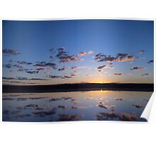 Sunrise Port Gregory Poster