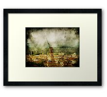 Existent Past Framed Print