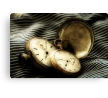 Does Anyone [Really] Know What Time It Is? Canvas Print