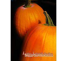 Card: Autumn Photographic Print