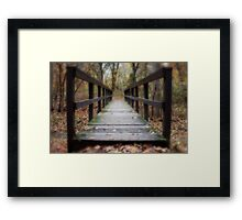 Life is a Journey Framed Print