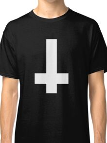 Inverted metal cross [upside-down] ATHEIST Classic T-Shirt