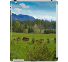 Cows Grazing In The Pasture iPad Case/Skin