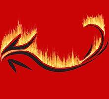 Dragon. Definitely not a lizard! by Bekah