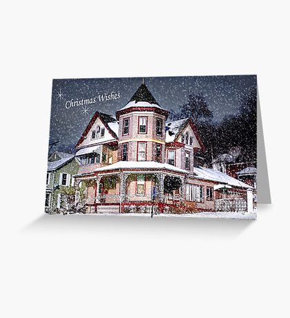 Snow for Christmas Eve Greeting Card