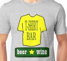 t shirt bar Unisex T-Shirt