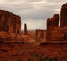 Park Avenue, Arches National Park by Olga Zvereva