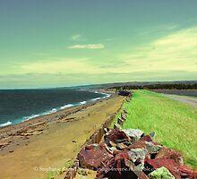 Big Island Causeway II by Stephanie Rachel Seely