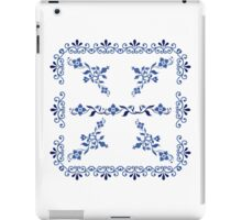 A little daft, a little Delft iPad Case/Skin