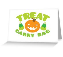 TREAT CARRY BAG Greeting Card