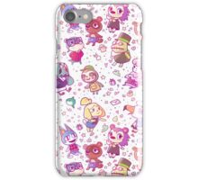 Animal Crossing Pattern iPhone Case/Skin