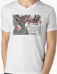 Wisdom of Trees - Red Raven T-Shirt