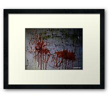 Cheap entertaiment Framed Print