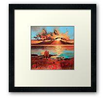Arran From Portencross Framed Print