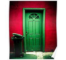 Green Door Poster