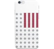 Diamond Stars and Ruby Stripes Flag iPhone Case/Skin