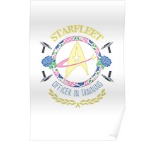 Starfleet Officer In Training Poster