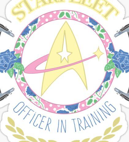Starfleet Officer In Training Sticker