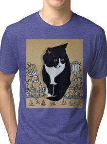 Tuxedo Cat... Tri-blend T-Shirt