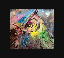 Galaxy Owl Unisex T-Shirt