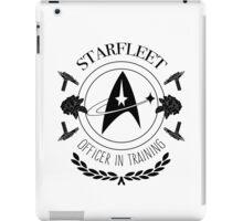 Starfleet Officer In Training (B&W) iPad Case/Skin