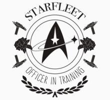 Starfleet Officer In Training (B&W) One Piece - Short Sleeve