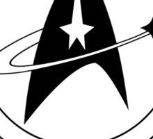 Starfleet Officer In Training (B&W) Sticker