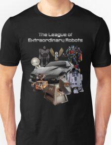 The League of Extraordinary Robots T-Shirt