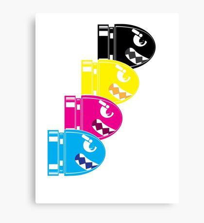 CMYK Bullet Canvas Print