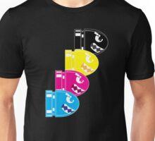 CMYK Bullet Unisex T-Shirt