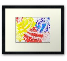 Things seem to fall apart in my dreams Framed Print