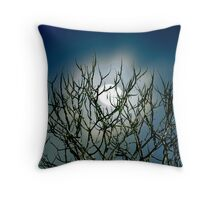Moon Stalk Throw Pillow