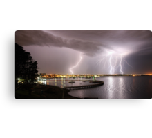 "Geelong Lightning - ""Three Strikes, Your Out"" Canvas Print"