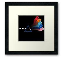 Dark Side of the Pac Framed Print