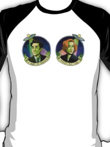 Scully and Mulder T-Shirt