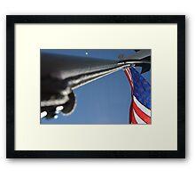 Memorial Day weekend on the Washington Island ferry Framed Print