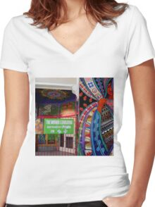 Just A Simple Something Women's Fitted V-Neck T-Shirt
