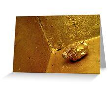 Decapitated Buddha Greeting Card