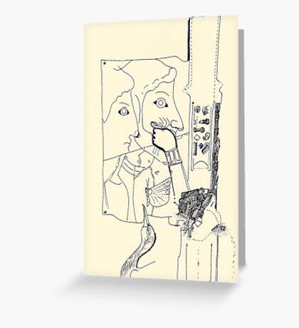 Fragments d'arts #02 Greeting Card