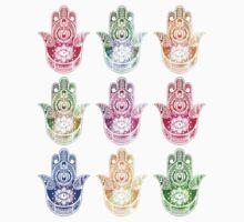 Hamsa Hand Pattern Kids Clothes