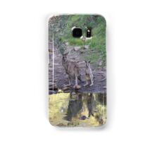 Reflections! Early morning at water hole. Samsung Galaxy Case/Skin