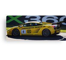 Lambo - sport sedan racing Bathurst 2009 Canvas Print