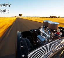 """Mate it's a V8 thing. It's what we're into"" by Tony Rabbitte"