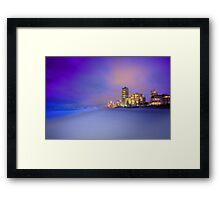 Goldcoast Sunset Framed Print