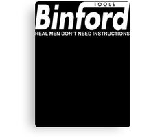 Binford Tools  Canvas Print