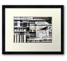 waste of time Framed Print